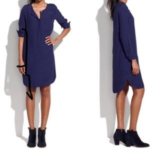 Madewell Cargo Tunic Navy Blue Size XS